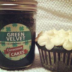 Forget the green beer this year, try this #vegan and #glutenfree green velvet cake!