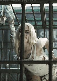 "murderous-manipulative-angel: """"Harley Quinn is extremely fun to watch because you have no clue what she's gunna do next. She is an extremely emotional complex character because she is a female Joker...."