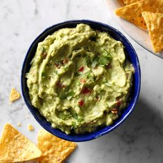 Homemade Guacamole Recipe -Ever wondered how to make guacamole? Just whip together this delicious blend of your favorite fresh ingredients.—Joan Hallford, North Richland Hills, Texas