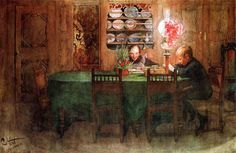 """Lessons"". Carl Larsson - for the schoolroom"