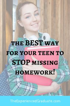 Does your teen or student currently have some missing homework listed in the grade book? Most students usually miss a few homework assignment Missing Homework, Do Homework, High School Hacks, School Tips, New Students, High School Students, Back To School Organization For Teens, Parenting Hacks, Parenting Teenagers