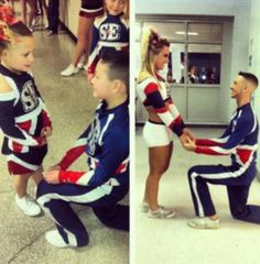 This is the cutest cheer thing I've ever seen
