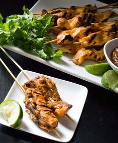 Chicken Satay Recipe | Real Food Freaks