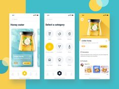 A list of top User Inteface (UI) and User Experience (UX) Design Works for Inspiration . Mobile app interfaces and Web design works. Web Design, App Ui Design, User Interface Design, Design Layouts, Flat Design, Graphic Design, Web Mobile, Mobile App Ui, Apps
