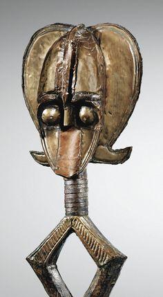 Figure de reliquaire, Kota Ndasa, Congo ou Gabon   Sotheby's