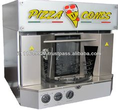 pizza cone oven FPC 100 LC for knowledgeable use Kono Pizza, Food Truck Equipment, Pizza Machine, Comida Pizza, Pizza Flyer, Vending Machines In Japan, Pizza Project, Pizza Cones, Chimney Cake