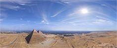 Египет. Великие пирамиды • AirPano.ru • Photo