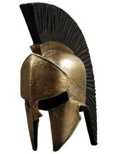 300 King Leonidas Crested Helmet