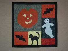 A collection of over 10 pumpkin quilt patterns and projects. All free!
