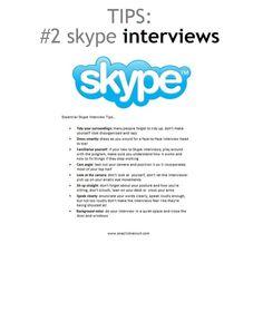 Essentials Skype Interview Tips