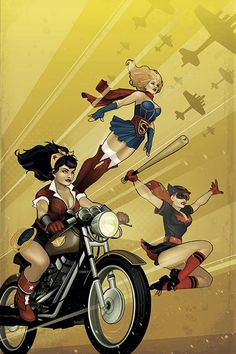 DC Comics to Launch Bombshells Comic by Bennett and Sauvage