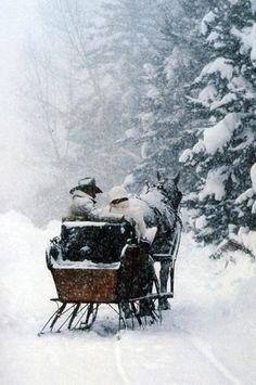sleigh ride·