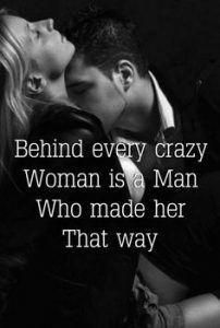 Behind every crazy woman is a man that made her that way. That pretty much sums it all up. Cute Love Quotes, Romantic Love Quotes, Love Quotes For Him, Kinky Quotes, Sex Quotes, Pensamientos Sexy, Flirty Quotes For Him, Seductive Quotes, Bonnie N Clyde