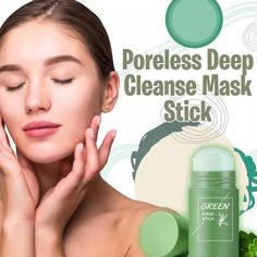 US$ 19.99 - Poreless Deep Cleanse Mask Stick - m.dunpie.com Greasy Face, Hair Removal Spray, Fiber Lash Mascara, Cleansing Mask, Les Rides, Wash Your Face, Skin Problems, Facial Masks, Healthy Skin