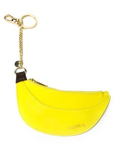 658463a6c3a5 Shop Muveil banana charm keychain in MUVEIL from the world s best  independent boutiques at farfetch.