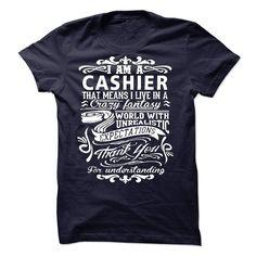 ((Top Tshirt Design) I am a Cashier [Tshirt design] Hoodies