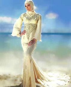 Pale goldenrod crinkle chiffon jilbab Delightful embellishments done on neckline Pentecostal Outfits, Islamic Clothing, Hijab Dress, Muslim Fashion, Beautiful Gowns, Fashion Sketches, Lehenga, Pakistan, Chiffon
