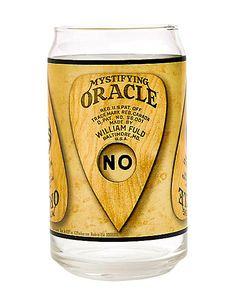 Ouija Board Can Glass 16 oz. - Hasbro - Spirithalloween.com
