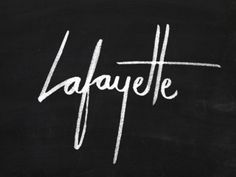 Lafayette by Oat Creative // Mark created using a Tombow ABT N15 pen.