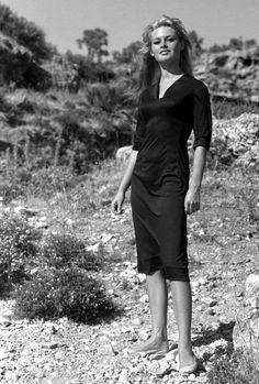 Brigitte Bardot, circa 1958.