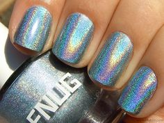 FNUG Holographic Nail Polish in Futuristica Silver Nail Polish, Holographic Nail Polish, Hair Follicle Drug Test, Get Nails, Make Up, Cosmetics, Nail Polishes, Sparkles, Beauty