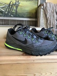 Women's Nike Zoom Wild horse 3 Running Shoes Size 9.5 Cool Grey 749337-001  | eBay