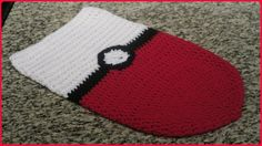 POKEMON GO! CROCHET POKEBALL COCOON! - YouTube #pokemongo