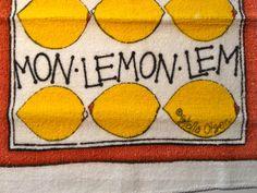 Vintage Stella Olsen Washcloth  NEW Old Stock  by ElkHugsVintage, $5.00