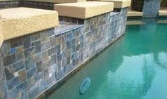 Sealed swimming pool tile will fog over, making a beautiful glossy pool tile permanently dull and cloudy. Arizona Bead Blasting does NOT seal pool tile. Backyard Pool Landscaping, Backyard Pool Designs, Backyard Ideas, Waterline Pool Tile, Swimming Pool Tiles, Pool Finishes, Pool Colors, Pool Remodel, Rectangular Pool