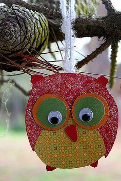 adorable owl craft