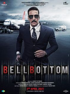 FILMING COMPLETE + NEW POSTER... The start-to-finish shooting of spy thriller #BellBottom is now complete... The filming took place in #UK... Set in 1980s, #AkshayKumar enacts the part of a #RAW agent in the film... Directed by Ranjit M Tewari... 2 April 2021 release. Bollywood Songs, Bollywood Actors, Bollywood News, Film Movie, Hd Movies, Global Map, Film Releases, Vash, Movie Tickets