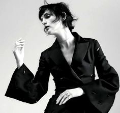 Stella Tennant by Willy Vanderperre in DIOR