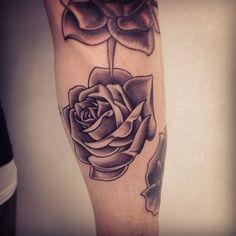 Rose Forearm Tattoos