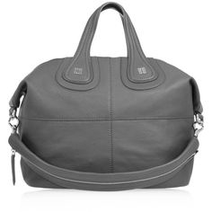 Givenchy Medium Nightingale bag in gray leather