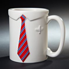 Business as Usual Ceramic Coffee Cup
