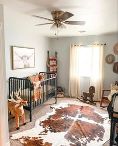 As soon as I found out I was having a boy I knew exactly what I wanted his room to be! Western Baby Nurseries, Western Nursery, Western Bedroom Decor, Baby Boy Nurseries, Vintage Cowboy Nursery, Western Rooms, Western Decor, Cow Nursery, Nursery Room