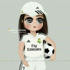 real madrid anime girl