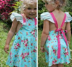 butterfly tea dress