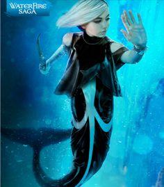 Astrid. Orca. North Pacific. The Waterfire Saga. Mermaid.