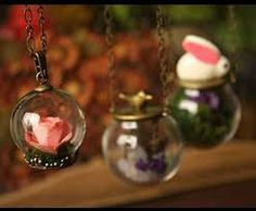decorative glass globes with branches - Google Search