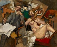 Married Life, 1912 Roger de la Fresnaye Minneapolis Institute of Art