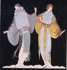 """Erte"" The wizard of Fashion designing and illustration!!!!!"