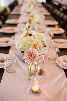 A Gorgeous Blush Pink, Cream & Gray Wedding, Part 1 by Riverland Studios via Fab You Bliss