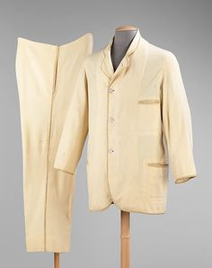 Suit, Date: 1870–79 Culture: American Medium: wool  Metropolitan Museum of Art   Accession Number: 2009.300.341a, b