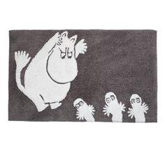 Moomin Bath Mat - Grey chcę :)