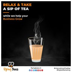 Worried about your Business in these challenging times? No worries, take a sip of tea on this International Tea Day while we help your Business grow Digitally. Let's meet over a tea for more details! #InternationalTeaDay #imunityboosterday #tea #greentea #refreshingtea #tealover #WorldTeaDay #digitalmarketingagency #topical #topicalpost #business #socialmediamarketing #digitalmarketing #socialmedia #keepbuzzing #letsflytogether #flyingbees Social Media Marketing, Digital Marketing, Take That, Let It Be, Meet, Times, Day, Business, Store