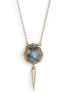 Melinda Maria 'Jackson' Drop Necklace available at #Nordstrom