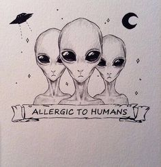 I'm looking for tattoo ideas but I can't decide what I want? Hipster Drawings, Space Drawings, Alien Drawings, Trippy Drawings, Art Drawings, Trippy Alien, Alien Art, Tumblr Hipster, Hipster Art