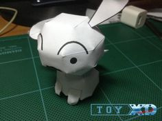 Crayon Shinchan - Shiro Dog Paper Model - by ToyXD PaperCraft - == -  By Crayon Shinchan anime and mangá, here is Shiro, the Dog, created by Thai designer ToyXD PaperCraft.