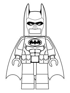 Coloring page Lego Batman Movie: batman movie